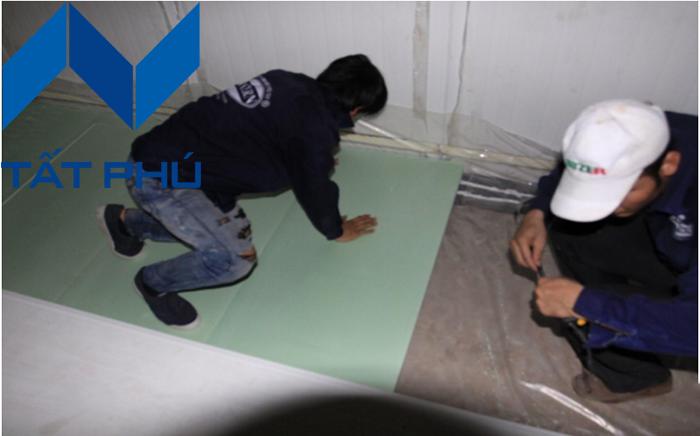 Tấm Eco XPS giải pháp hoàn hảo dành cho sàn kho lạnh