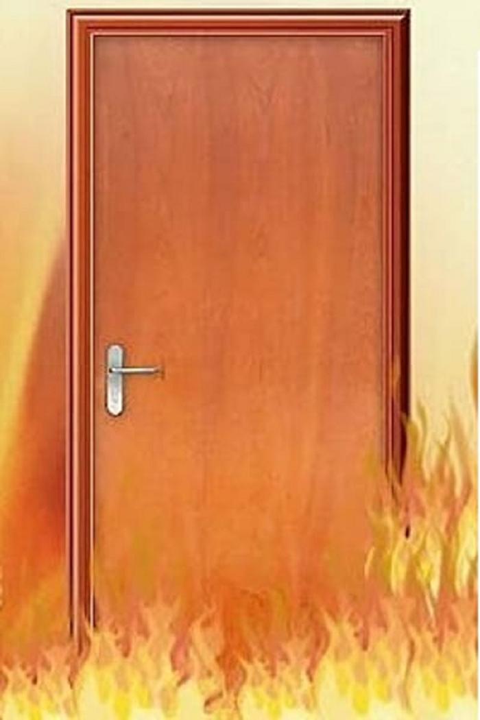 Cửa gỗ chống cháy có gì điều đặc biệt?