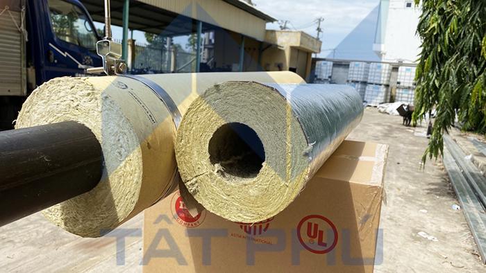 Bông ống định hình Dragon Rockwool – Bảo ôn định hình đường ống