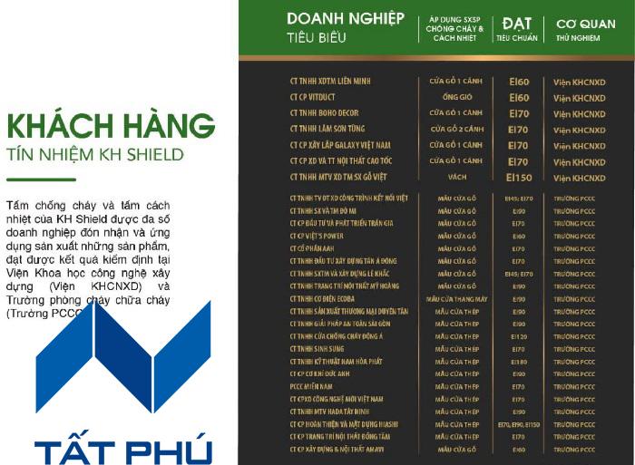 Tấm KH.Shield – Giải pháp chống cháy cách nhiệt toàn diện