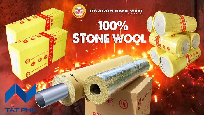 Cách nhiệt – Cách âm – Chống nóng cho vách tường bằng bông khoáng Dragon Rockwool