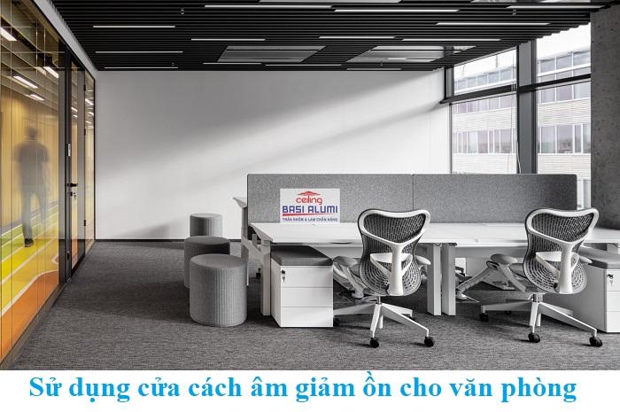 Đập tan ô nhiễm tiếng ồn trong không gian văn phòng