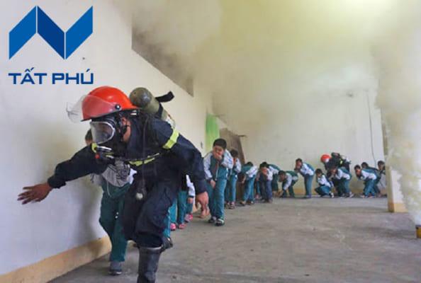 Khi đám cháy xảy ra, trẻ em là đối tượng khiến nhiều bậc cha mẹ không yên tâm