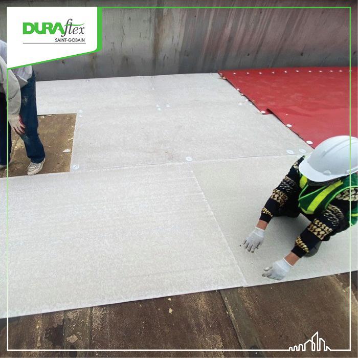 Lót mái chống nóng bằng tấm Duraflex 2x đem lại nhiều lợi ích bất ngờ