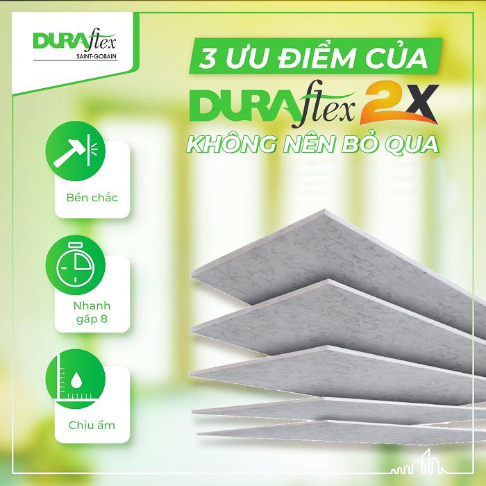 Tấm Duraflex 2X Việt Nam.
