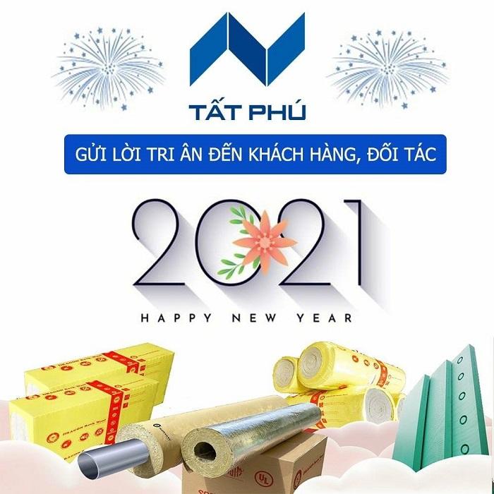 Công ty Cổ Phần Tất Phú chúc mừng năm mới 2021