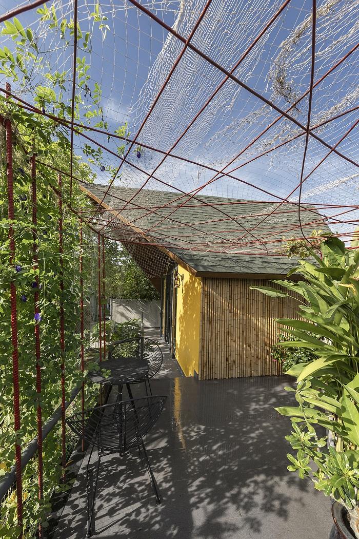 Tham khảo dự án ngôi nhà hình cánh diều dùng tấm Duraflex 2X
