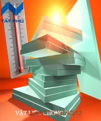 Vật liệu chống nóng giúp ngôi nhà luôn mát mẻ hơn trước các tác động của thời tiết