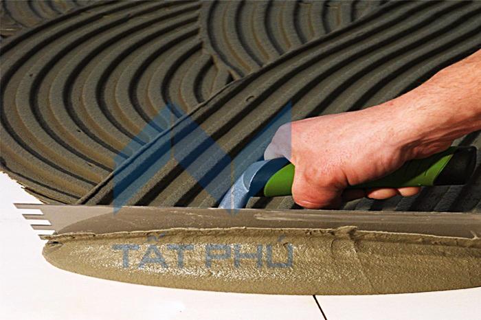Tầm quan trọng của keo dán gạch trong thi công tấm xi măng Cemboard.