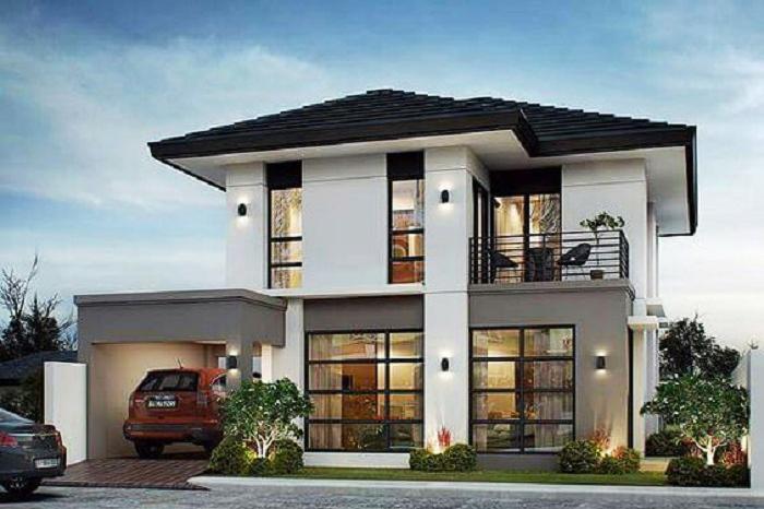 Chiêm ngưỡng 12 mẫu nhà mặt phố 2 tầng đẹp không thể cưỡng nổi