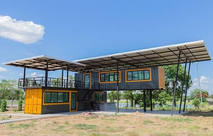 Làm nhà lắp ghép Container xu hướng xây dựng mới nổi ở Việt Nam