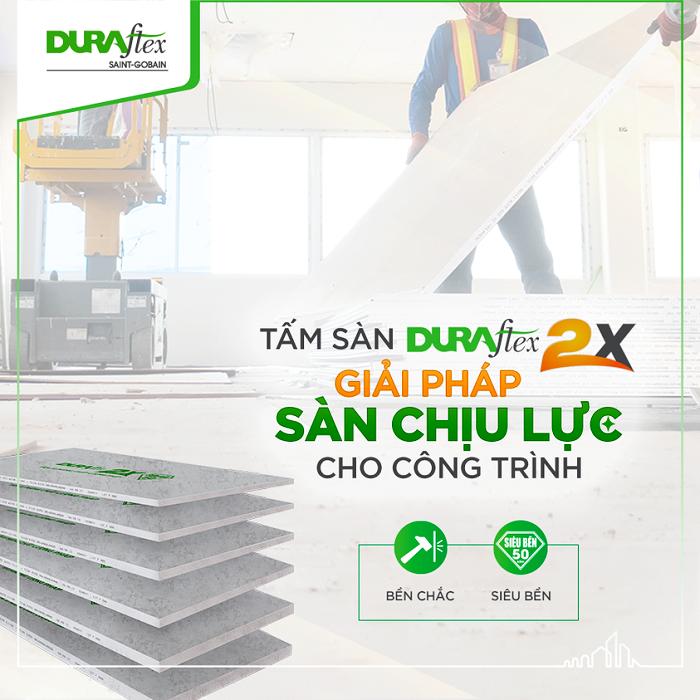 Vì sao tấm sàn nhẹ Duraflex 2X đã và đang là giải pháp tối ưu cho công trình.
