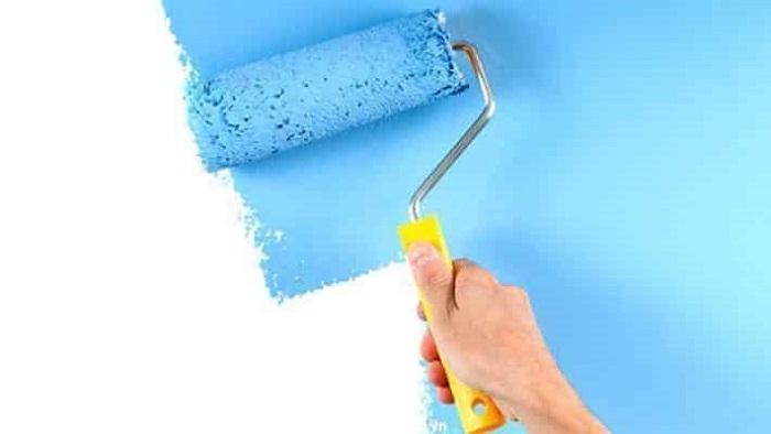 Dùng sơn chống nóng để cách nhiệt tường hướng tây.