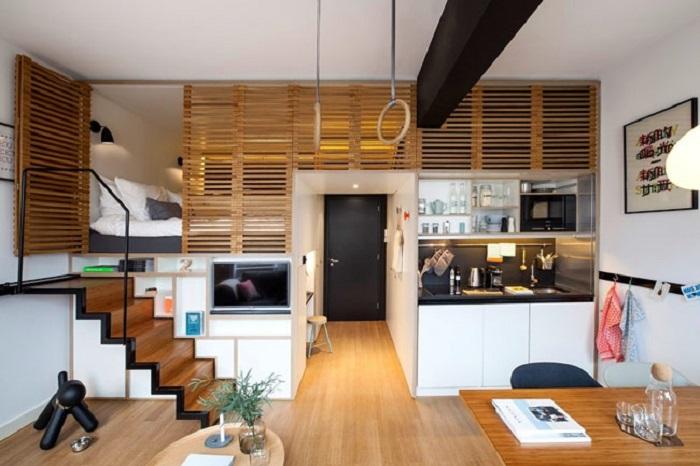 Xu hướng thiết kế nhà có gác lửng trong kiến trúc hiện đại
