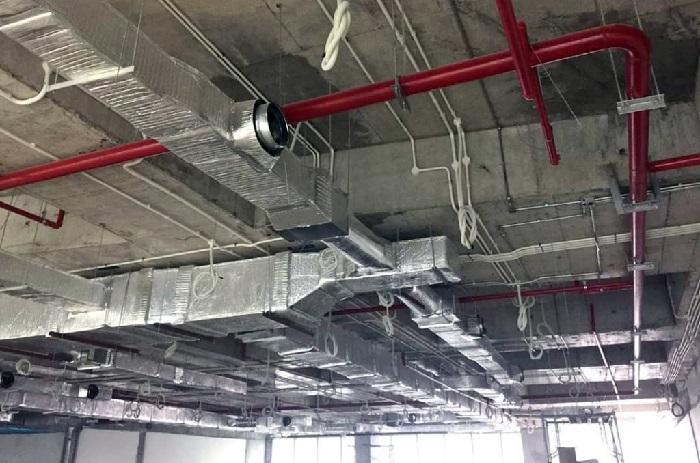 Hệ thống chống cháy ống hút khói được lắp đặt ở đâu?