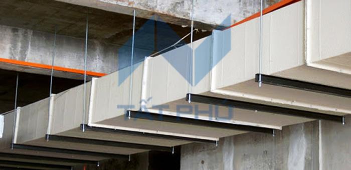 Tìm hiểu tiêu chuẩn và vị trí lắp đặt ống gió chống cháy EL120, EL90, EL60, EL45, EL30