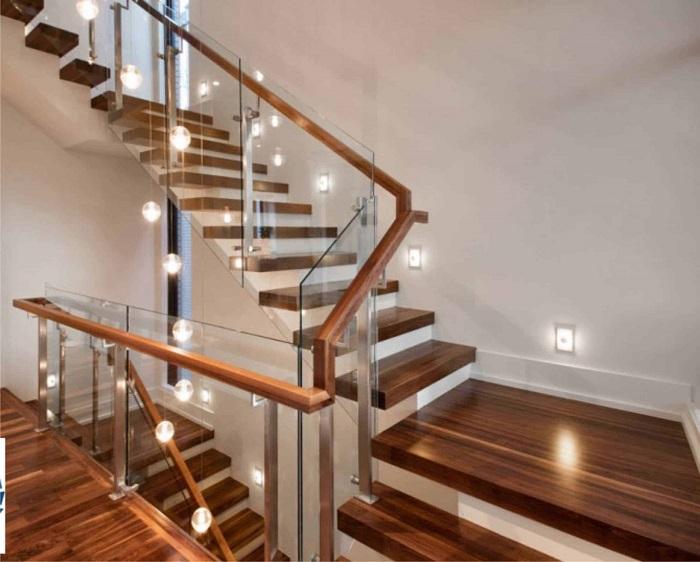 Chết mê với những mẫu cầu thang gỗ đẹp nhất năm 2021