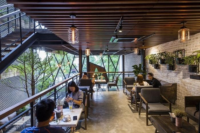 Tổng hợp top 35+ mẫu quán cafe nhà khung thép đẹp nhất năm 2021