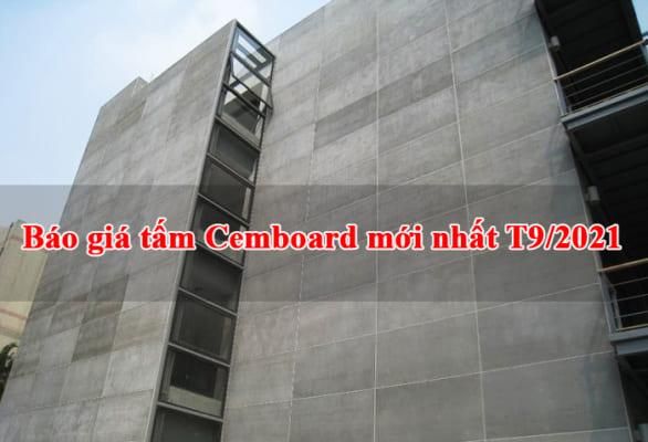 Báo giá tấm Cemboard T9/2021 chính hãng mới nhất tại Tất Phú