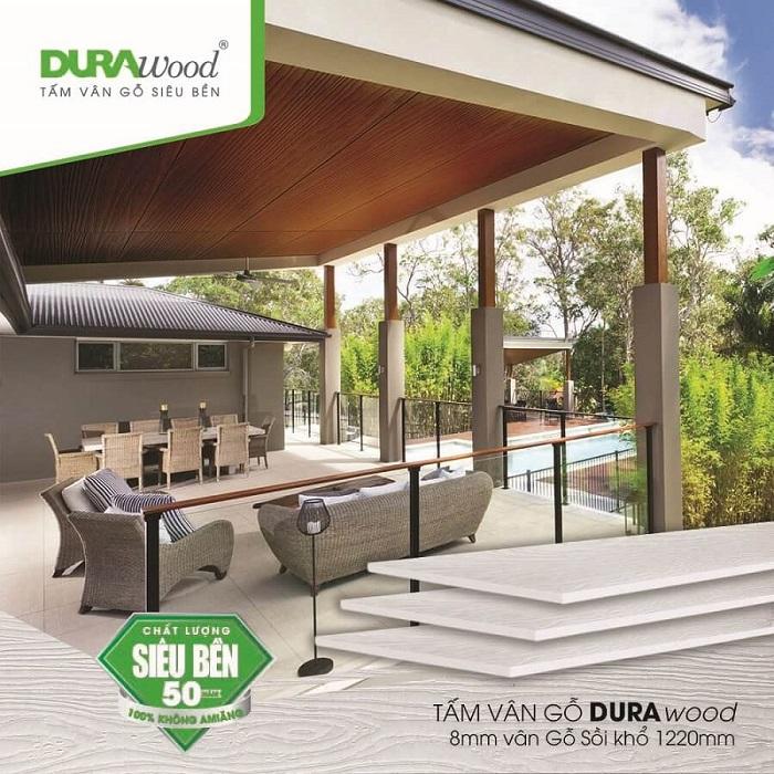 Làm mới không gian nhà ở bằng tấm xi măng vân gỗ Durawood