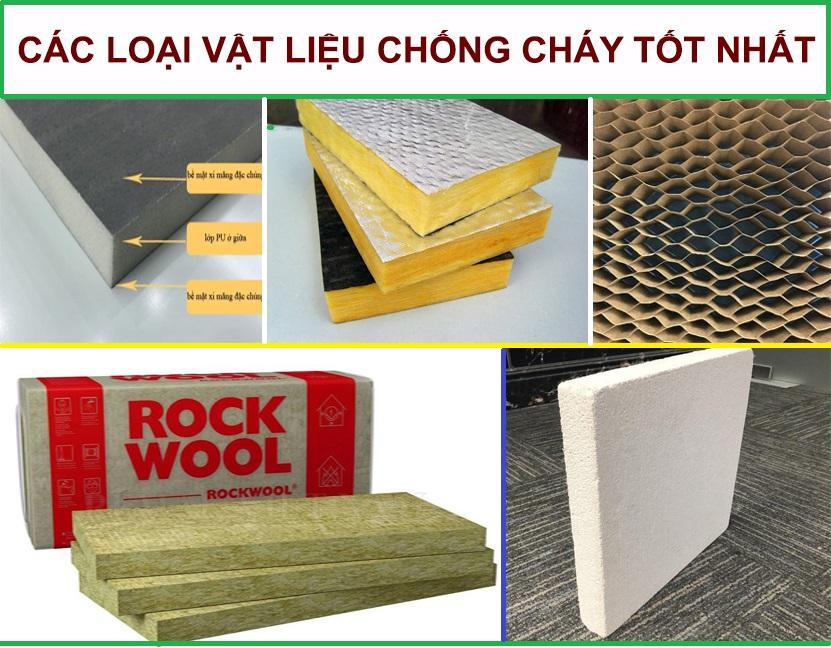 Tầm quan trọng của vật liệu chống cháy trong xây dựng hiện đại.